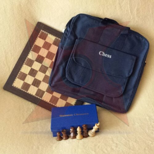 Combo tablero+piezas+maletin