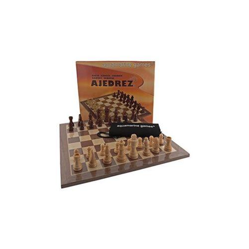 Conjunto Tablero 32x32 + Piezas de madera
