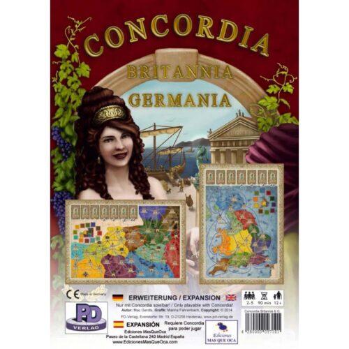 Concordia Expansión Britania Germania