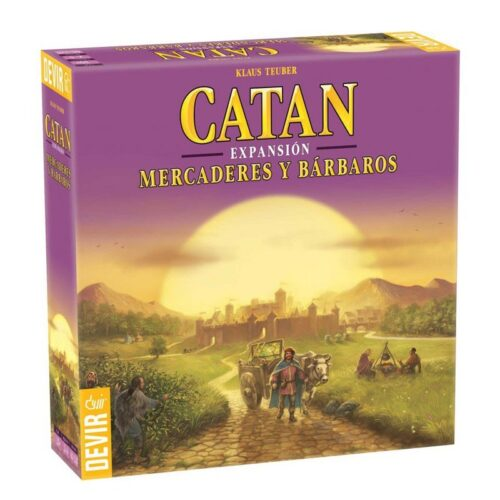 Catan. Mercaderes y Barbaros