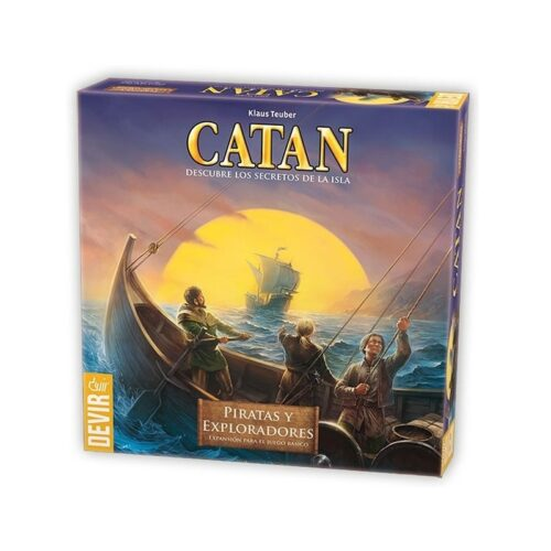 Catan. Piratas y Exploradores