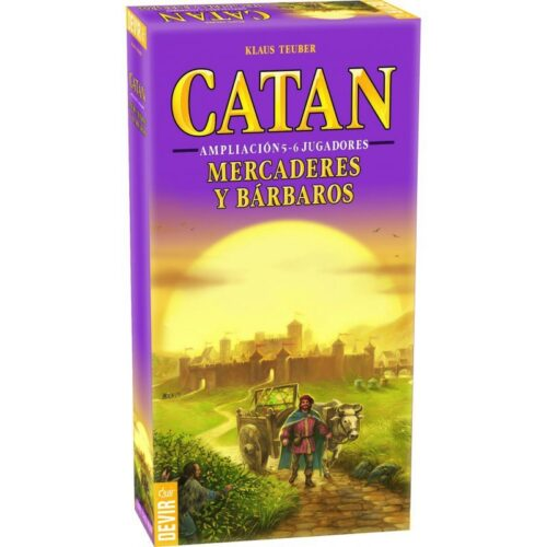 Catan. Mercaderes y Barbaros Exp. 5-6 jug.