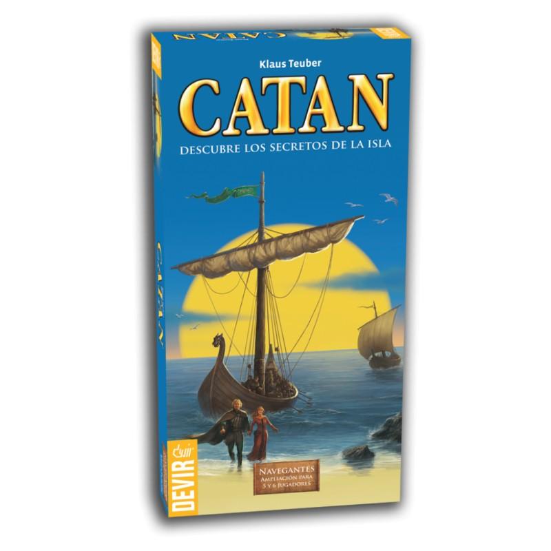 Catan. Navegantes Exp. 5-6 jug.