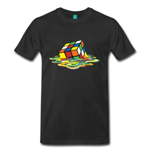 Camiseta Cubo derretido