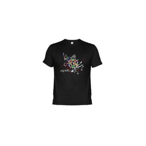 Camiseta Cubo matemáticas