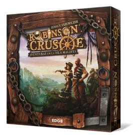 juegos de mesa en solitario : Robinson Crusoe