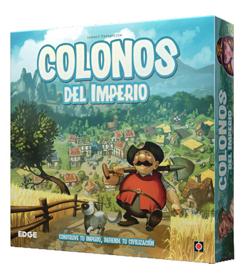 colonos del imperio - juegos de mesa en solitario