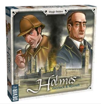 los mejores juegos para dos jugadores: Holmes