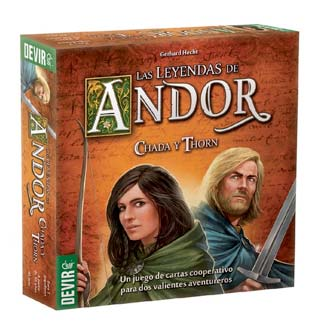 las leyendas de andor : juegos para dos jugadores