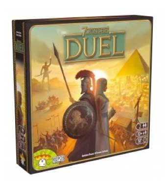 7 wonders duel , los mejores juegos para dos jugadores