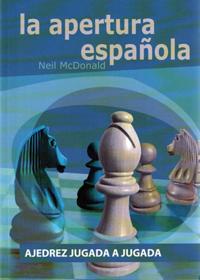 la apertura española - libros de ajedrez