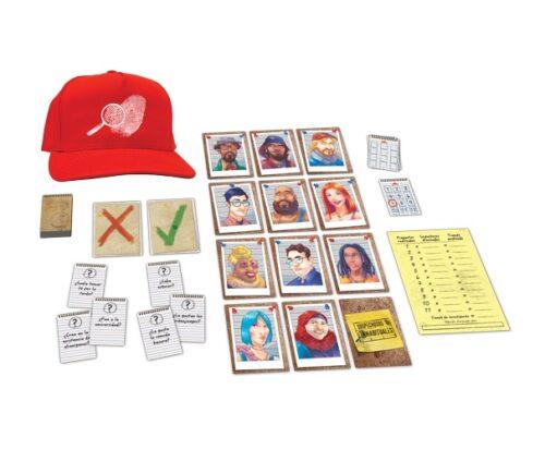 sospechosos inhabituales - juego de mesa