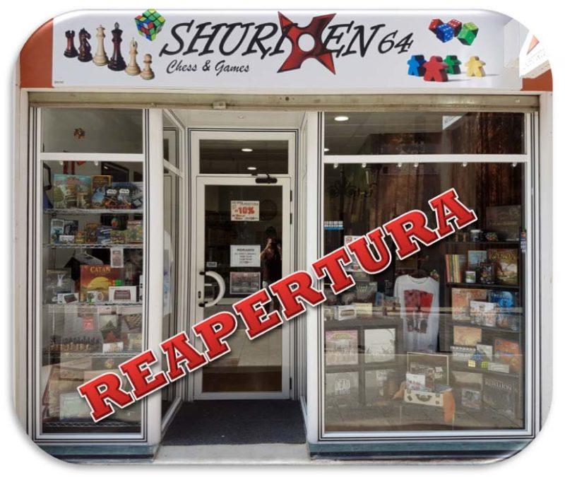shuriken64 tienda en Albacete de ajedrez y juegos de mesa