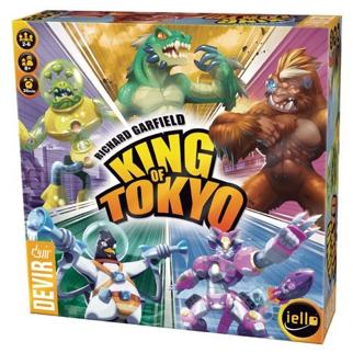 king of tokyo - juego de mesa para niños